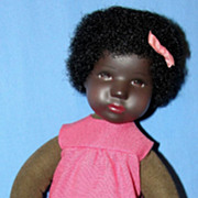 Rare Mint in Box Black Daumlinchen Kathe Kruse Girl Doll
