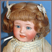 Antique Gebruder Heubach Character Baby Doll, Rare Mold