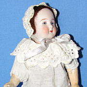 """7"""" Antique German Bisque Doll"""