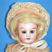 """Antique Cabinet Size  8 1/2"""" Porzellanfabrik Rauenstein bisque doll"""