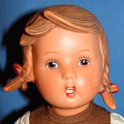 """Vintage Goebel / MJ Hummel """"Gretl"""" Doll, Original clothing"""