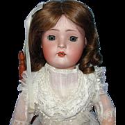Pretty Antique German Bisque Character Doll - Revalo or Hertel & Schwab