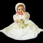 "Outstanding Antique German Bisque 16"" Kestner Character Doll Mold # 247 ""Baby Jean"""