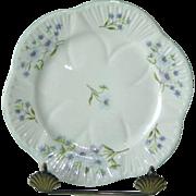 Shelley Blue Rock Dainty Shape Small Plate