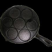 Vintage Cast Iron Plett Pan Made in USA