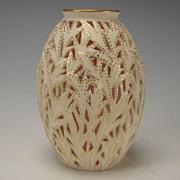 Antique Reticulated Grainger Worcester China Porcelain Vase c1875