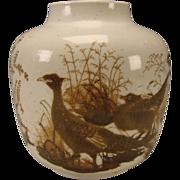 Large Royal Copenhagen Nils Thorsson Faience Danish Porcelain Vase