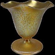 Art Nouveau Iridescent Loetz Papillon Art Glass Vase c1900 Antique