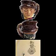 Royal Doulton Small Size Character Jug PADDY