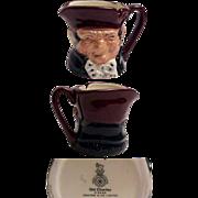Royal Doulton Miniature Size Character Jug Old Charley