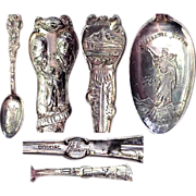 Full Size 1905 Lewis & Clark Exposition Sterling Souvenir Spoon