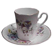 Royal Grafton Floral Demitasse Cup & Saucer