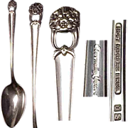 (2) 1941 Eternally Yours Table/Serving Spoon by 1847 Roger Bros