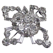 Dressy & Stylish Rhinestone Brooch / Pin