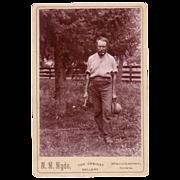 Cabinet Card/Photo of a Carpenter
