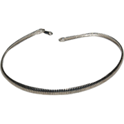 """16 3/8"""" Long Heavy Sterling Necklace with Secure Clasp"""