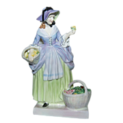 "Fancy Royal Doulton Figurine ""Spring Flowers HN 1807 / 1937-1959"