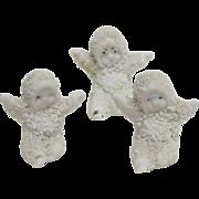 1900's ( 3 ) wee little Snow Babies