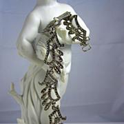Vintage Sterling Silver & Marcasites Elegant Bracelet