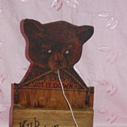 Yellowstone Park String Holder Bear Cub