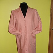 Oscar de La Renta Peach Jacket/Coat