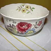 "Spode ""Gainsborough"" (Marlborough) Large Open Sugar Bowl"
