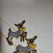 Prancing Donkey? Scatter Duo Charm Pins - Free Shipping