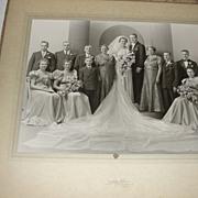 Really Long veil Wedding Photo