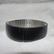 Basic Black Stretch Bracelet - Free shipping