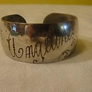 Angeline 1933 Cuff Bracelet - Free Shipping