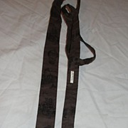 Modes of Transportation Brown ''Holiday Studio'' Square bottom Skinny Tie - Free Shipping