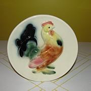 Royal copley Rooster Wall Pocket/vase - b40