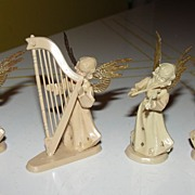 4 Piece Christmas Angel Orchestra