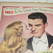 Prell Shampoo ''Radiant Creme'' Ad