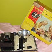 Kodak Brownie Hawkeye No 177E Camera in Box - b47