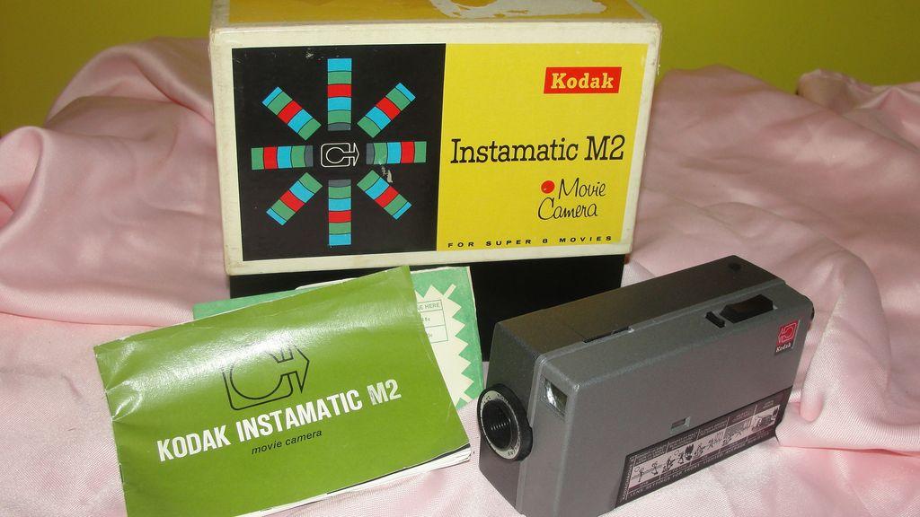 Kodak Instamatic M2 Movie camera No D32 - b47