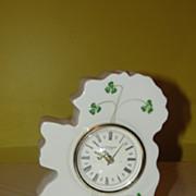 Donegal Purian China Irish Isle Clock - b48