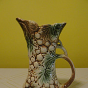 McCoy Grapes and leaves Pitcher Ewer