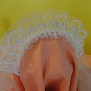 Blue Trim Double Layer Communion Veil