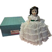 Madame Alexander Gone with the Wind Scarlet O'Hara Doll #1510 in Box