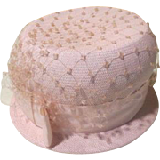 Bowed, Brimmed and Netted Hat