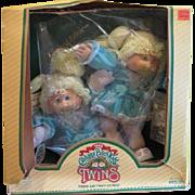 Cabbage Patch twins 1985 - Sherri Dorothy and Celia Shari - b