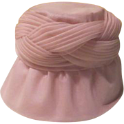 Braided Organza Bee Hive Hat