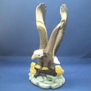 Eagle Porcelain Hand Painted Figurine