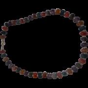 Avon Nugget Treasure Lucite Necklace Colorful