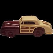 Avon 1948 Chrysler Town and Country Car Bottle Burgundy