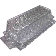 Fostoria American Covered Butter Dish