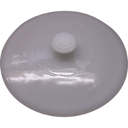 Anchor Hocking Fire-King White Round Lid Only