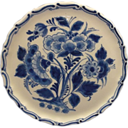 Delft Blue Plaque Small Plate Teapot Stand