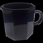 Arcoroc Octime Creamer Black Glass France